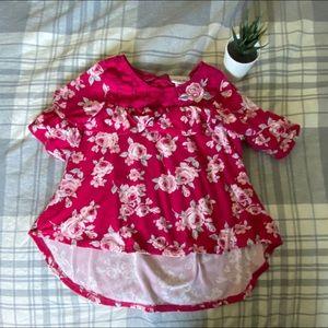 Little Lass Floral shirt